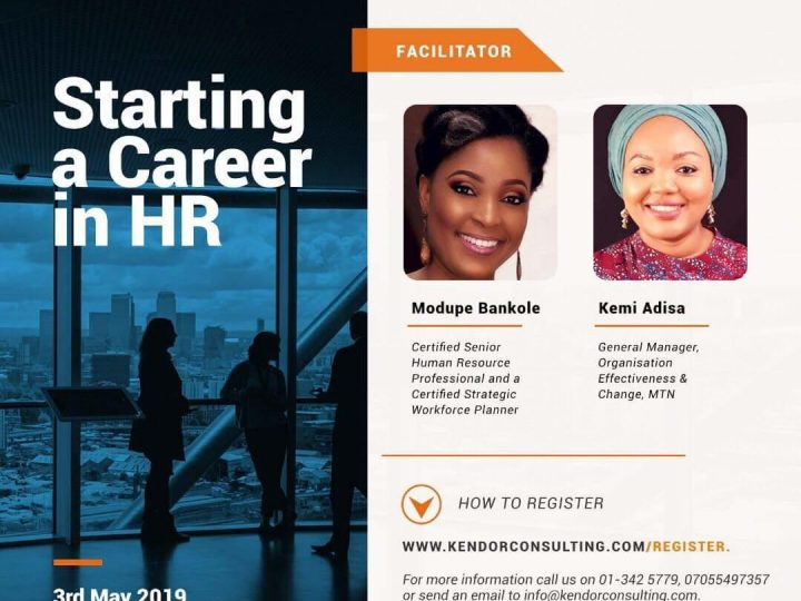Kendor Consulting Free Training for HR Enthusiasts