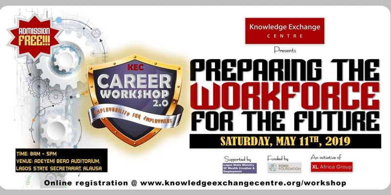 "Free KEC Career Workshop 2.0: ""Preparing the Workforce for the Future."""