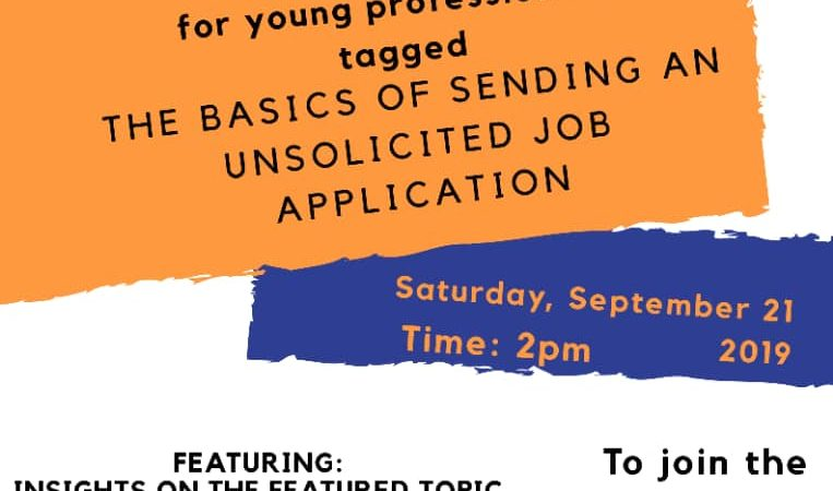 Twitter Mentoring Session: The Basics of Sending Unsolicited Job Applications