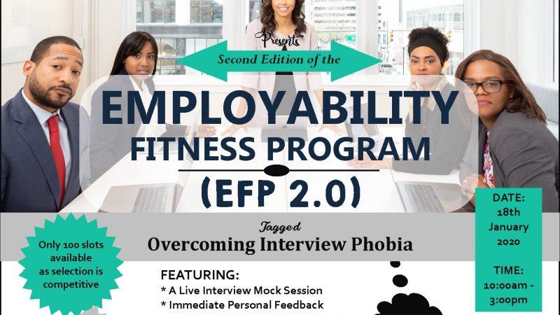 Employability Fitness Program 2.0 (EFP2.0) is here!!!