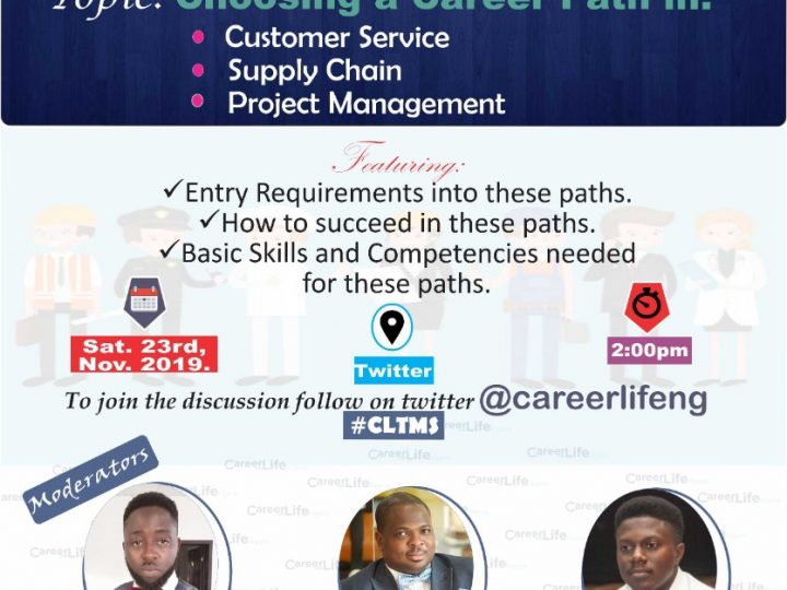 Twitter Mentoring Session: Choosing a Career Path
