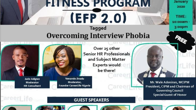Registration For The Employability Fitness Program 2.0 Has Started