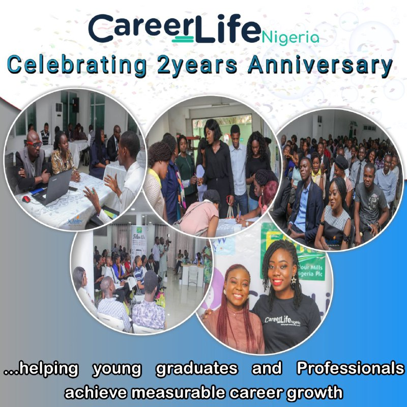Hooray! CareerLife Nigeria is Two Years Old Today!